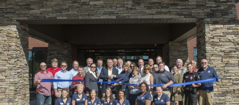 New Moody Civic Center ribbon-cutting & open house this past weekend