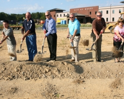 Construction Starts on New Moody Library