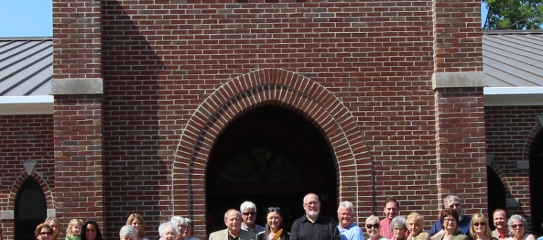 Mayor Miller attends a Ribbon-Cutting at St. Theresa's in City of Leeds